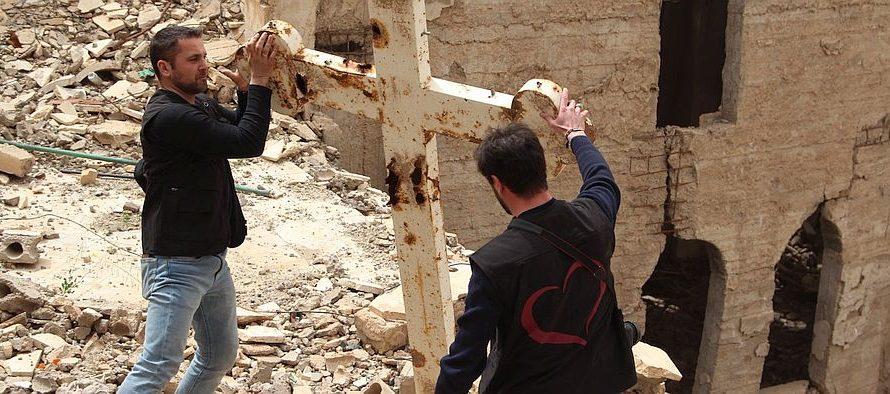 Collecte voor Syrische kerken brengt €1.400,- op