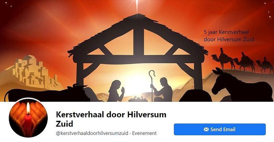 Kerstverhaal door Hilversum Zuid