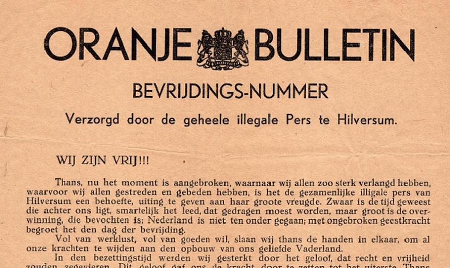 Expositie 'Hilversum 75 jaar bevrijding herdacht'