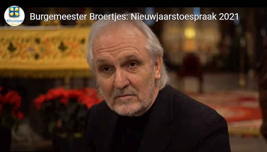 Steun voor zieke burgemeester Pieter Broertjes