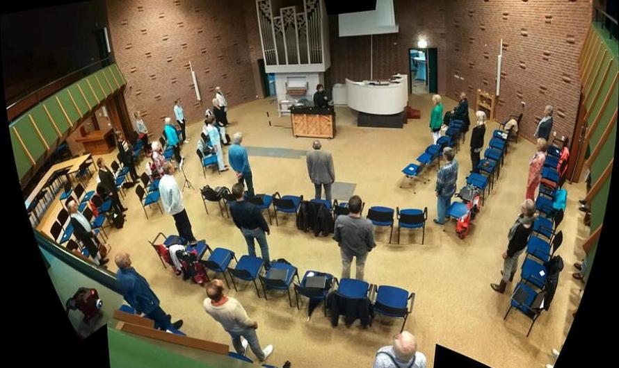 PKN: Samenzang en kerkbezoek op 1,5 meter mogelijk
